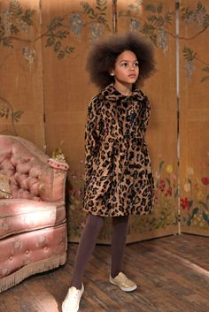 Leopard Print Coat - New Collection - Girls Leopard Nursery, Girls Parka, Kids Outfits, Cool Outfits, Vip Fashion Australia, Leopard Print Coat, Cute Coats, Animal Print Fashion, Kids Coats