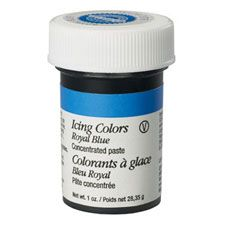 Royal Blue Icing Color
