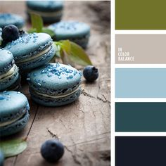 Turquoise color of mint macaroon.  Color inspiration for design, wedding or outfit. More color pallets on color.romanuke.com.