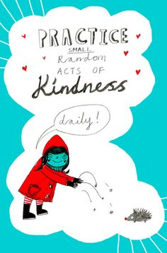Random acts of #kindness