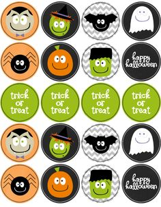 Halloween printable labels - to use in straw relay game Happy Halloween, Dulceros Halloween, Halloween Labels, Halloween Stickers, Halloween Cupcakes, Holidays Halloween, Halloween Decorations, Halloween Printable, Halloween Costumes