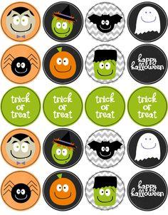 Halloween: Mini Kits para Imprimir Gratis.