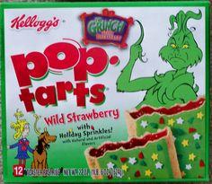 the grinch who stole christmas pop tarts
