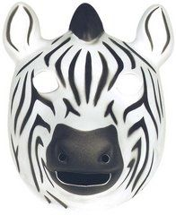 Zebra Mask (Foam) at theBIGzoo.com, a toy store that has shipped over 1.2 million items.