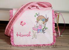"""""""Auf der Schaukel"""" Kindergarten- Rucksack/Tasche  von The Cute Owl auf DaWanda.com"""