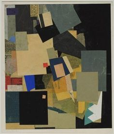 Untitled (Mz Elikan Elikan Elikan) - Schwitters, Kurt - Dada - Collage - Abstract - TerminArtors