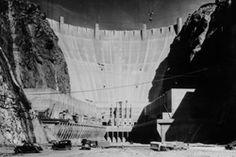 Hoover Dam under construction
