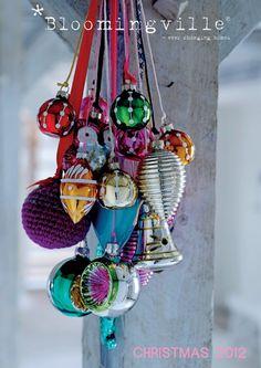 Weihnachtskugeln - mit bunten Mustern und tollen Verzierungen: Weihnachtskugeln…