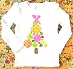 Polka Dot Christmas Tree shirt