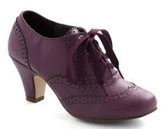 purple lace up heels  http://rstyle.me/n/bgcxfpdpe