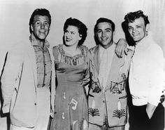 Ferlin Husky, Patsy, Faron Young, and Jerry Reed