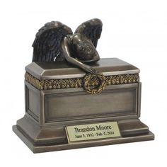 Angel of Grief® Bronze Keepsake Urn