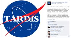 Look what NASA posted on Facebook for the 50th! ~~~~ you rock, NASA