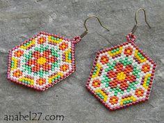 Pattern bijoux: Orecchini Flower