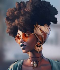 Simi Moonlight Art by Daniela Uhlig on Artstation Black Love Art, Black Girl Art, Black Is Beautiful, Art Girl, Black Girls, Black Women, African American Art, African Art, Black Girl Cartoon