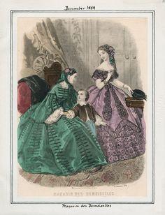 Magasin des Demoiselles December 1859 LAPL