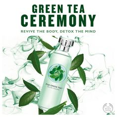 We all know that green tea has antioxidant qualities. With its detoxifying health benefits, green tea has been revered for over 400 years in social and cultural activities, including the Japanese Tea Ceremony. Green Tea Bath, Japanese Tea Ceremony, The Body Shop, Fuji, Health Benefits, Bath And Body, Bottle, Camellia, Bergamot