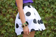Polka Dot Skirt.. quite possibly way tooo much volume for everyday but i looooove it!