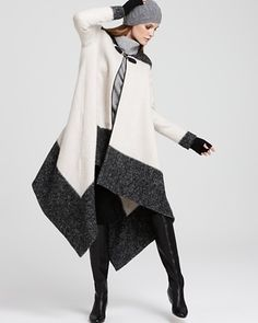 asymmetrical AND color block?  sign me up!
