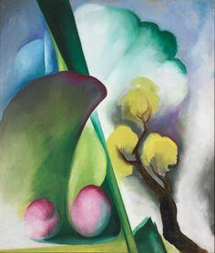 Pierre-Jean Maurel - igormaglica: Georgia O'Keeffe (1887-1986)Spring 1922. oil on...