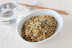 Sensational Asian - Tofu Stir-Fry Night: Epicure's 3 Onion Sesame Crunch Rice Quick Dinner Recipes, Side Dish Recipes, Lunch Recipes, Fall Recipes, Summer Recipes, Healthy Recipes, Lunch Menu, Dinner Menu, Epicure Recipes