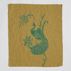 *NEW COLOR* Peacock Linen Hand Towels