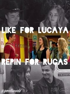 Like for Lucaya or Repin for Rucas. Who's side do you choose? Edit made my @gmeetsworld | ~follow me: Pinterest @gmeetsworld ~ |