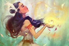 Pocahontas by faedri on DeviantArt