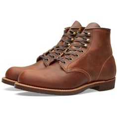 """Red Wing 2959 Heritage Work 6"""" Blacksmith Boot ($380) ❤ liked on Polyvore featuring mens, men's shoes, men's boots and men's work boots"""