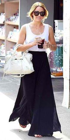 falda negra   pashmina   faldOtas   Pinterest   Nice and Girls