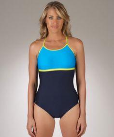 Nautica Boardwalk Women's High Neck One Piece Bathing Suit | Best Shopping Center
