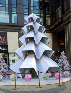 #美陈设计#圣诞树艺术景观装饰:北京港澳...