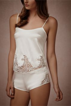 Boudoir Lace Camisole from BHLDN Luv how soft and sexy this feels on my body!