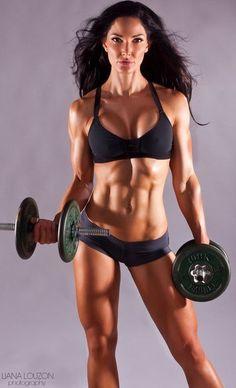 """""""F#ck skinny. Get Fit."""" #motivation #inspiration"""