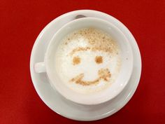 Smile! The coffee does :)