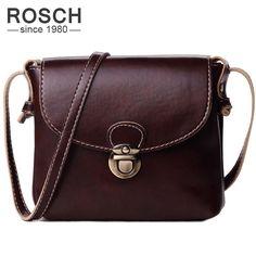 High Quality Fashion Women Messenger Bags Pu Leather Handbag Black Famous  Brand Small Business Female Satchel Crossbody Bag 5b03329494
