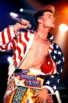 Rocking the Stars and Stripes Pictures - Vanilla ice | Rolling Stone