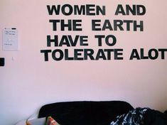 Just very true. Women are like the earth.