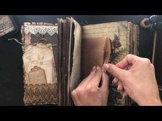 Memories- Vintage Junk Journal - YouTube