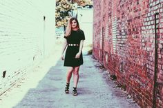 I loveeee and I mean love brick walls. They offer more texture for your pictures. When I saw this alley with TWO and I repeat two different bricks I just had to snap a quick picture.