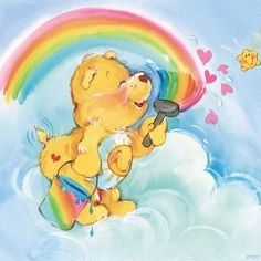 The sky's the limit when it comes to creativity! Show us your Care Bears masterpiece.