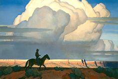 Maynard Dixon-Desert Journey