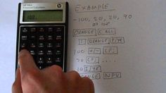 HP 10BII Financial Calculator NPV Calculation