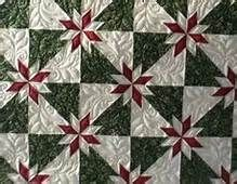 hunter's star quilt pattern tutorial - Bing Images. For a class, how about Christmas quilt