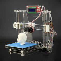 Z605S 3D Printer Desktop Printer High Precision Acrylic Frame Three-Dimensional Physical Printer with LED Screen (Using 1.75mm Printing Supplies)