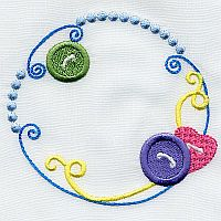 A Design By Lyn Sewing Frames for Machine Embroidery