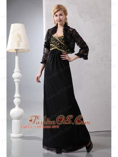 Gorgeous Black Column Sweetheart Sequins Mother Of The Bride Dress Ankle-length Chiffon  http://www.fashionos.com  http://www.facebook.com/fashionos.us   mother of the bride dresses ready to ship | mother of the bride dresses for wedding party | design your own mother of the bride dress | online mother of the bride dresses | gorgeous mother of the bride dresses | mother of the bride dresses with jacket | column mother of the bride dresses |