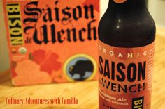 Bison Brewing's Saison de Wench {Beer Tasting Notes}