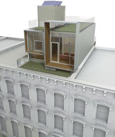 Roof Dock - modular units for city roofs