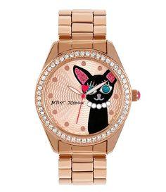 Betsey Johnson Cat Watch